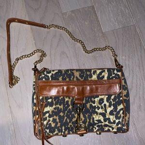 Animal Print Rebecca Minkoff Shoulder Bag